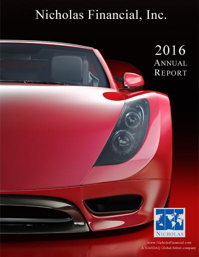 Nicholas Financial Annual Reports