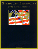 Nicholas Financial - 2002 Annual Report