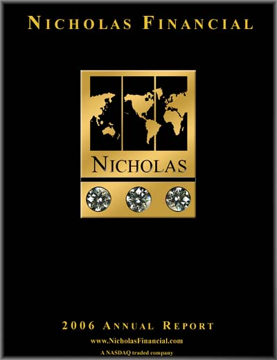 Nicholas Financial 2006 Annual Report