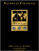 Nicholas Financial - 2006 Annual Report